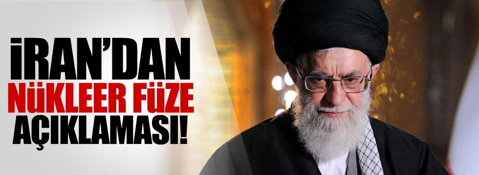 İran'dan nükleer füze açıklaması