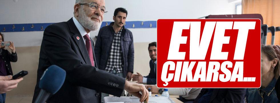 Karamanoğlu'ndan oy sonrası açıklama