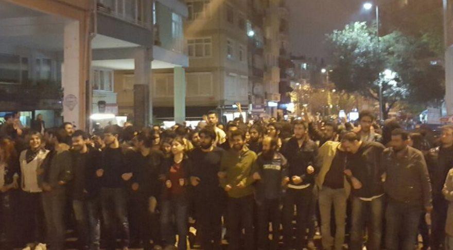 İstanbul'da YSK protestosu başladı