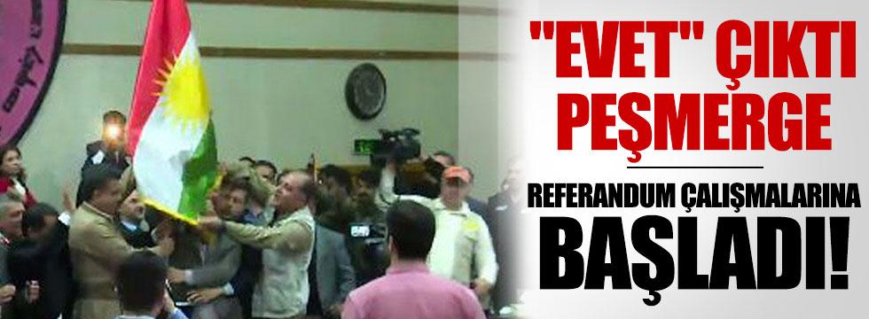 Peşmerge 'evet'ten sonra referanduma hız verdi