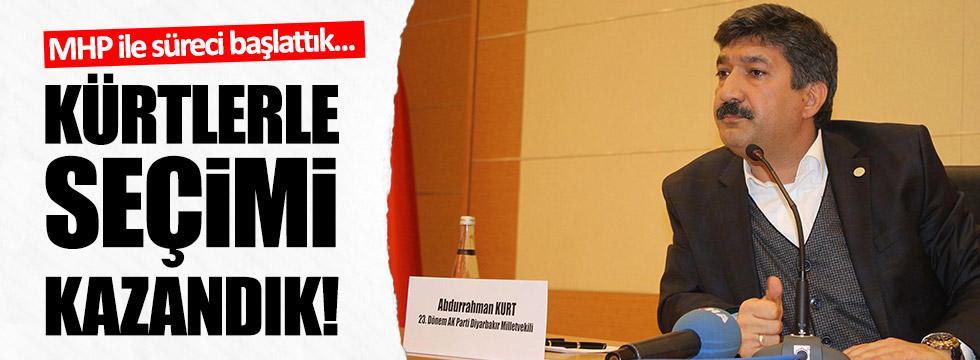 MHP ile süreci başlattık, Kürtlerle seçimi kazandık!