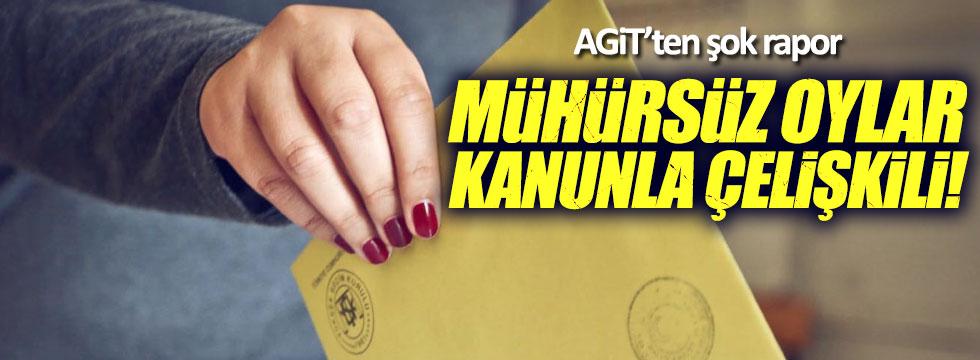 AGİT: Mühürsüz oylar kanunla çelişkili