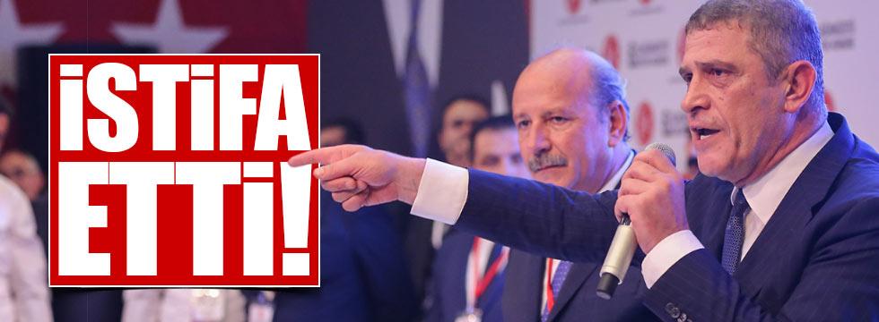 Dervişoğlu, MHP'den istifa etti