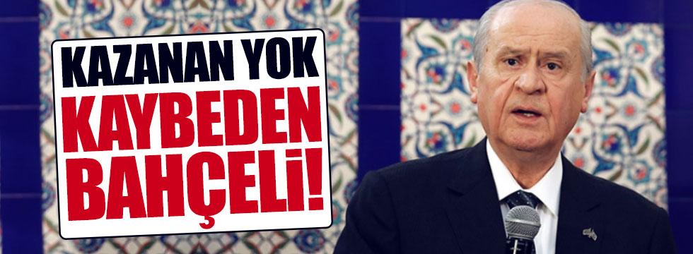 """""""Referandumun kazananı yok, kaybeden Bahçeli"""""""
