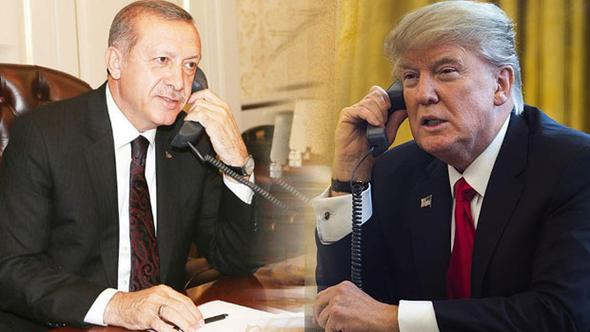 Trump'tan Erdoğan'a telefon