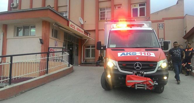 İzmir Aliağa'da patlama