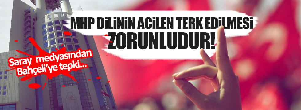 Akif Emre: MHP dilinin acilen terk edilmesi zorunludur