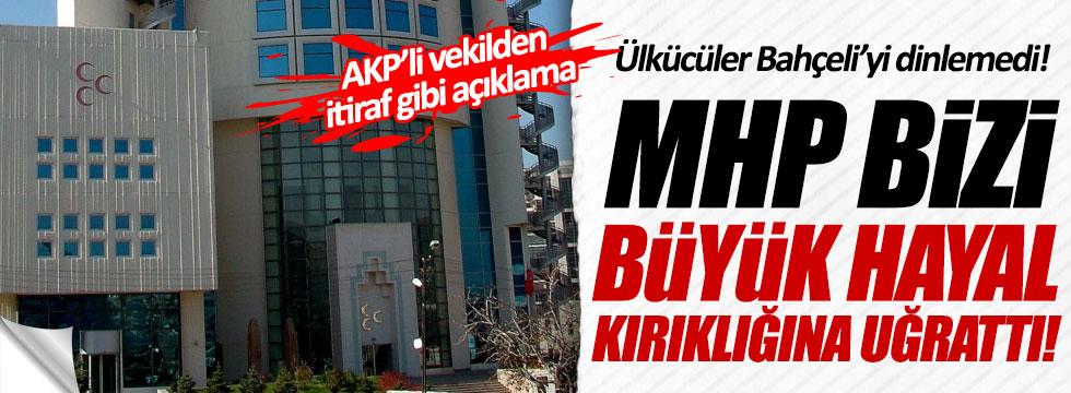 AKP'li Miroğlu: Ülkücüler Bahçeli'yi dinlemedi