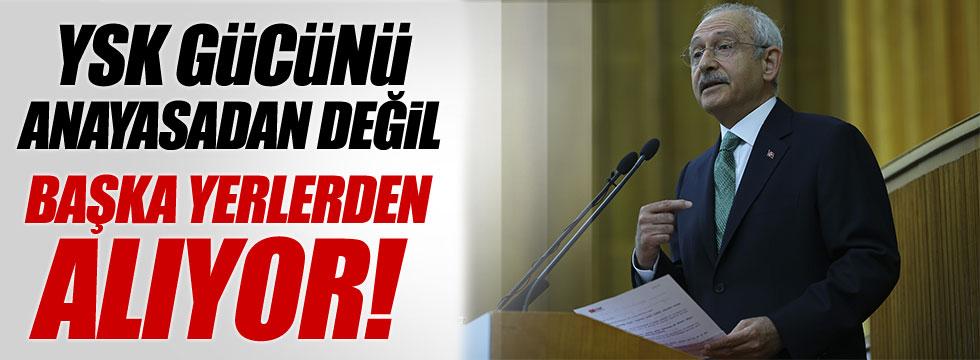 Kılıçdaroğlu'ndan YSK'ya çok sert tepki