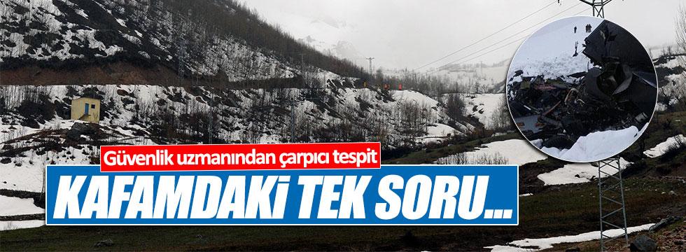 Güvenlik Uzmanı Mete Yarar, Tunceli'deki kazayı değerlendirdi