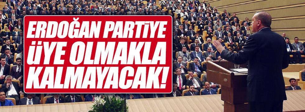 """Selvi: """"Erdoğan partiye üye olmakla kalmayacak"""""""