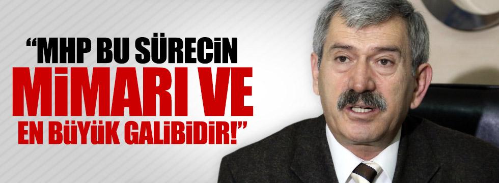 """Şefkat Çetin: """"MHP bu sürecin en büyük galibidir"""""""