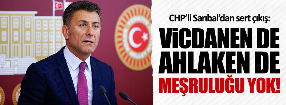 CHP'li Orhan Sarıbal'dan Erdoğan'a tepki