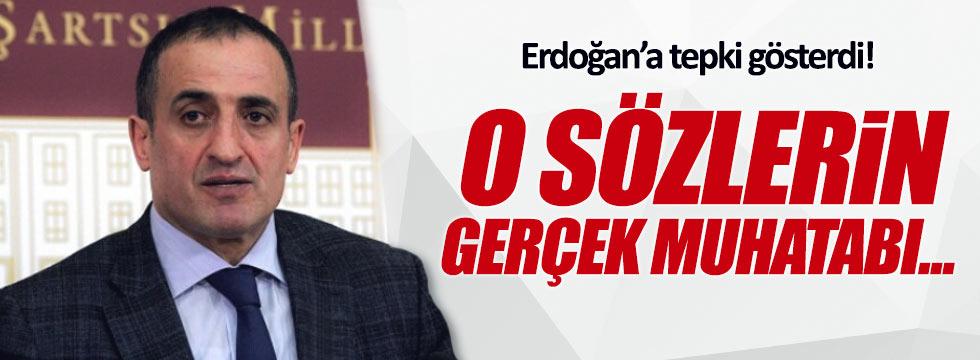 Atila Kaya'dan Erdoğan'a tepki