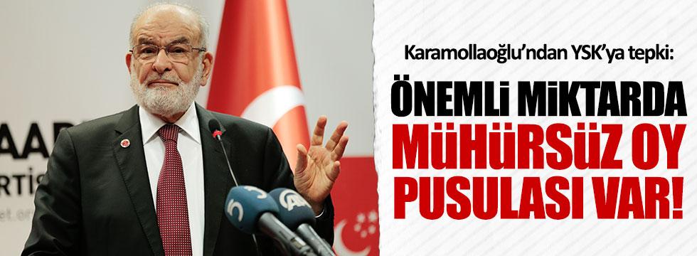 Saadet Partisi lideri Karamollaoğlu'ndan YSK'ya sert tepki