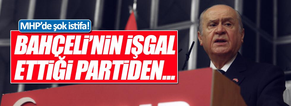 MHP İstanbul eski İl Başkan Yardımcısı Şeref Gül partiden istifa etti