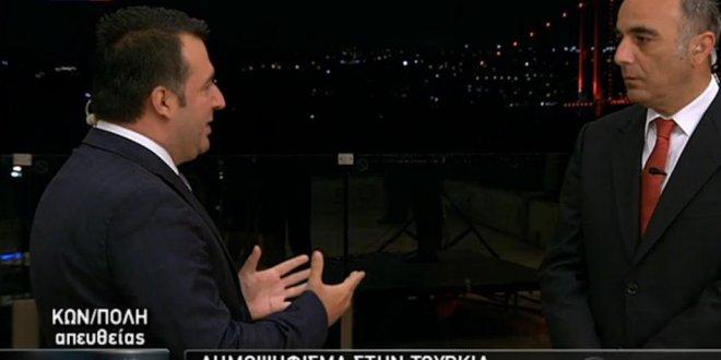 Yunan Kanalında FETÖ Tartışması