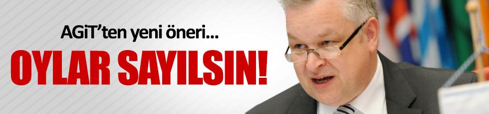 AGİT'ten referandum için yeni öneri