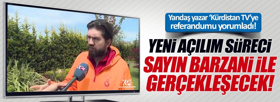 """Rasim Ozan Kütahyalı: """"Yeni açılım süreci sayın Barzani ile gerçekleşecek"""""""