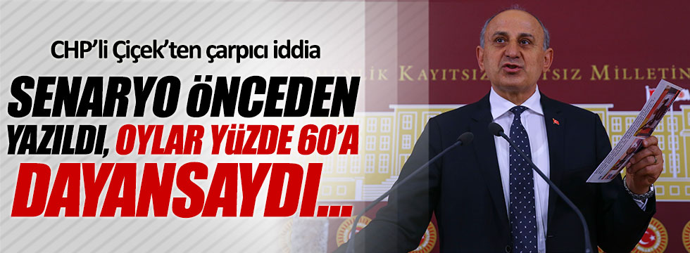 CHP'li Dursun Çiçek'ten çarpıcı iddia