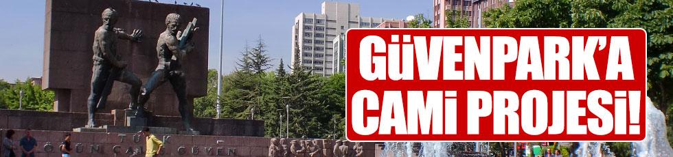 Ankara'da Güvenpark'a da cami