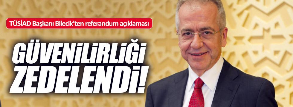 """TÜSİAD: """"Seçim güvenliği zedelendi"""""""