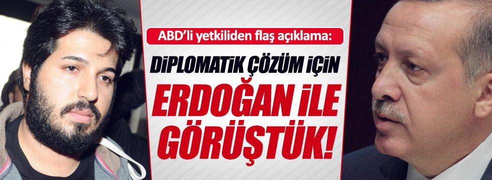 Zarrab davasına diplomatik çözüm: Erdoğan, ABD ile görüşmüş