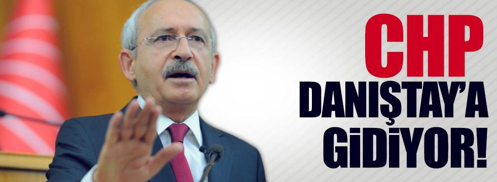 CHP, 'red' kararı için Danıştay'a gidiyor