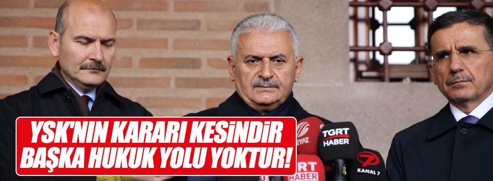 Yıldırım'dan, CHP açıklaması