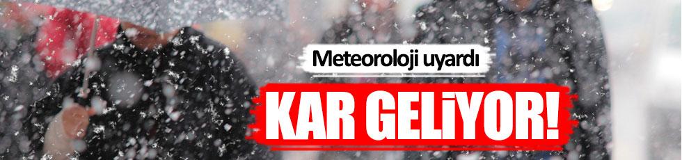 Meteoroloji uyardı: 23 Nisan'da kar geliyor!