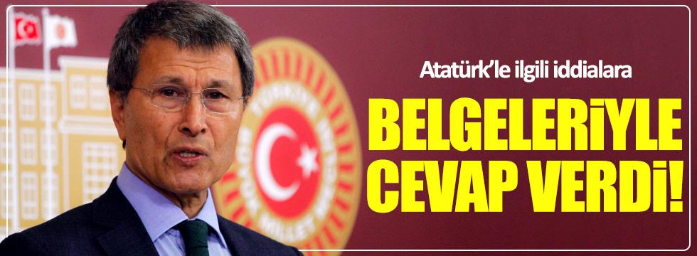 Halaçoğlu, Atatürk'le ilgili iddialara belgeleriyle cevap verdi