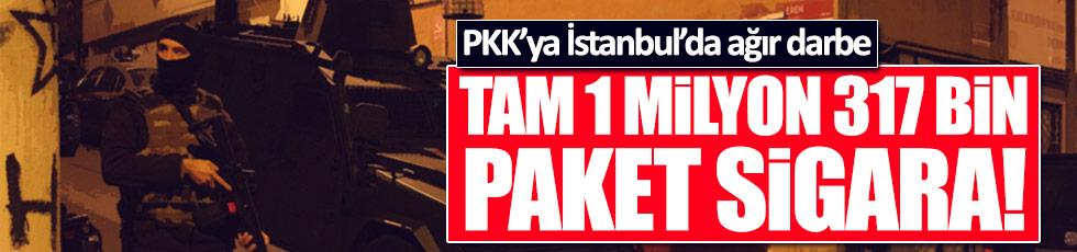 İstanbul'da PKK'ya ağır darbe