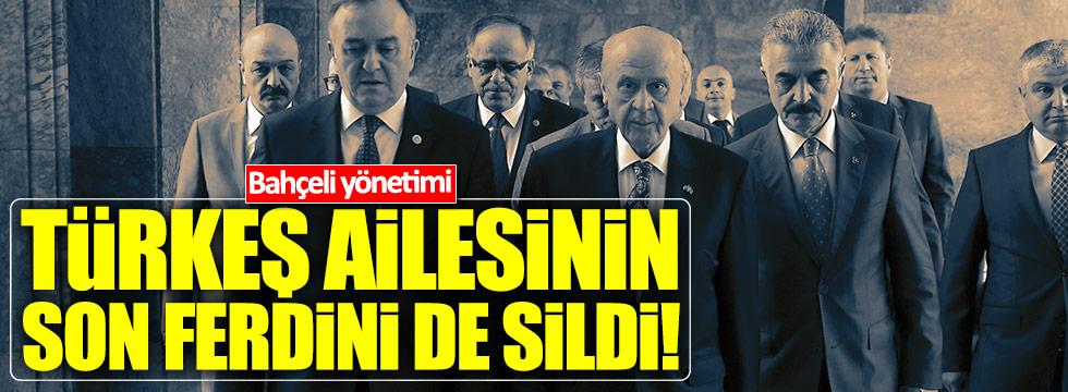 Alparslan Türkeş'in torunu Onurhan Homriş, MHP delegeliğinden çıkarıldı
