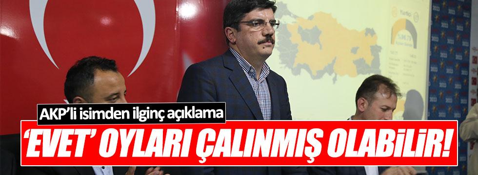 AKP'li Yasin Aktay: 'Evet' oyları çalınmış olabilir