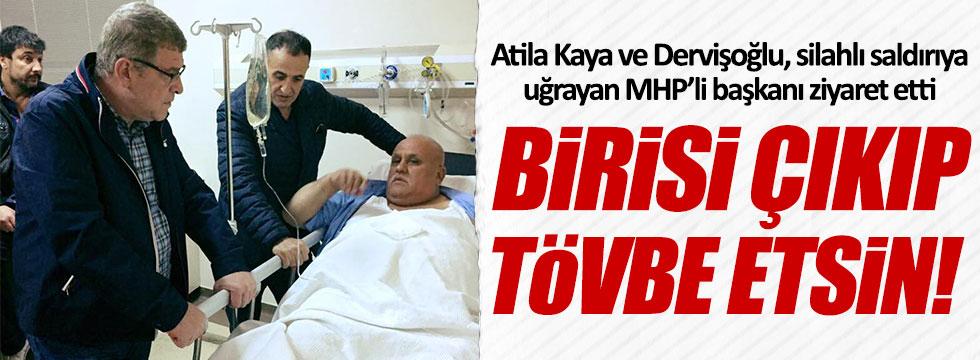 Müsavat Dervişoğlu: Birisi çıkıp tövbe etsin!