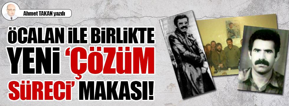 """Öcalan ile birlikte yeni """"çözüm süreci"""" makası!.."""