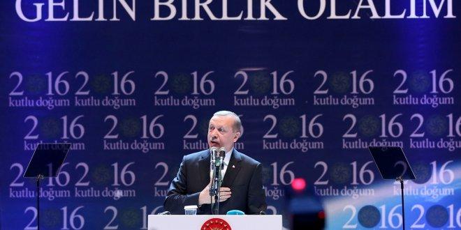 Erdoğan'dan Ermeni Patrikhanesi'ne mesaj!