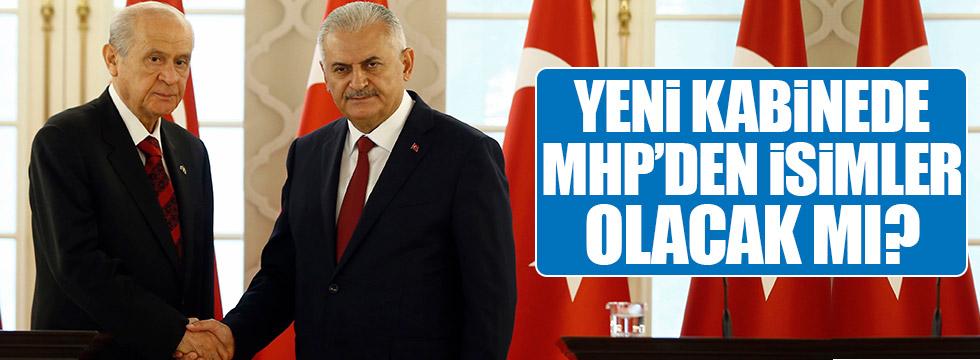 Yeni kabinede MHP'den isimler olacak mı?