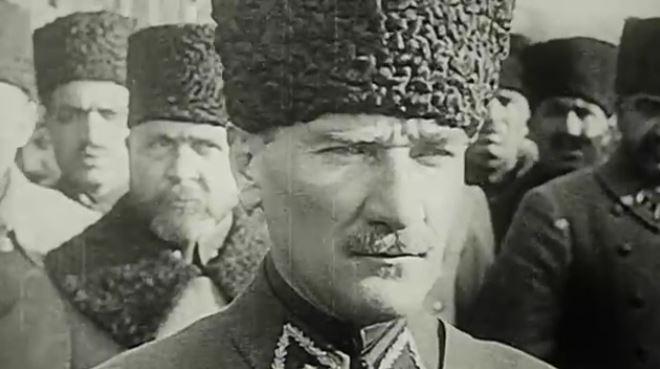 Atatürk'ün yakın çekim muhteşem görüntüleri