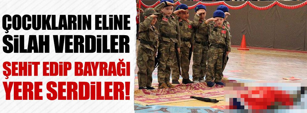 Kayseri'deki 23 Nisan kutlamasına tepki yağıyor