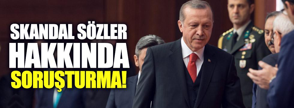 Erdoğan'ı hedef alan Fransıza soruşturma