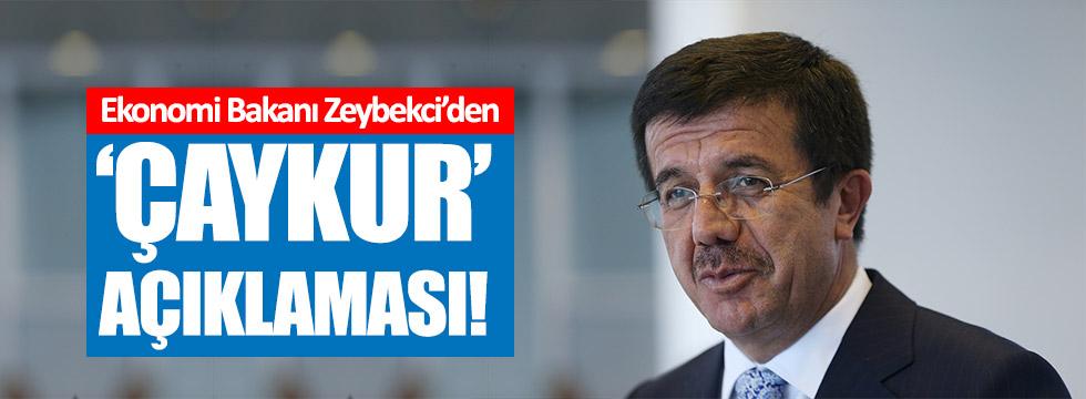Bakan Zeybekci'den 'ÇAYKUR' açıklaması!