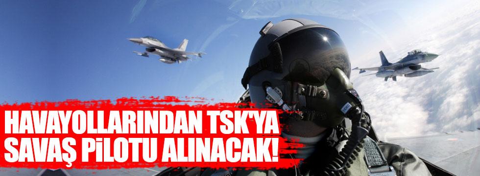 Havayollarından savaş pilotu