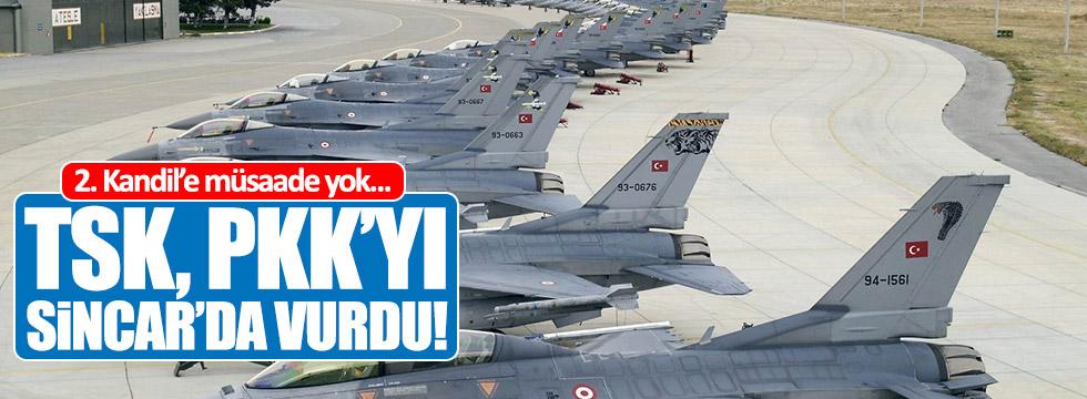 TSK, PKK'yı Sincar'da vurdu!