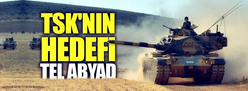 TSK'nın hedefi Tel Abyad kenti