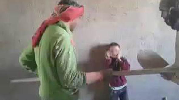 Çocuğa işkence eden Suriyeliler yakalandı