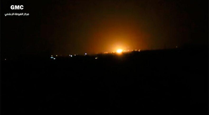İsrail, Şam'ı vurdu iddiası