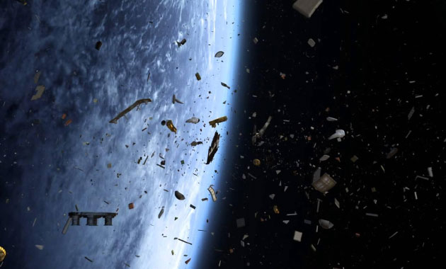 Uzay'da çöp krizi