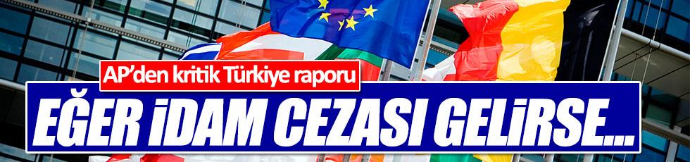 Avrupa Parlamentosu'ndan idam uyarısı