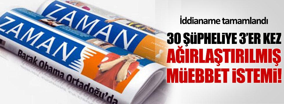 Zaman Gazetesi iddianamesi kabul edildi